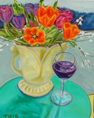 Artist: Pat Tolle, Title: Wine Time - click for larger image