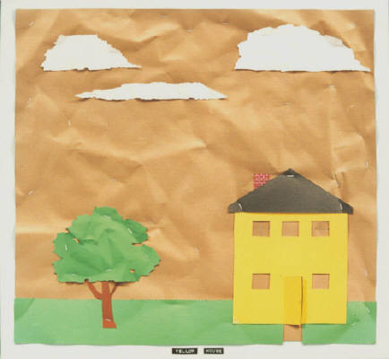 Artist: Bill Braun, Title: Yellow House - click for larger image