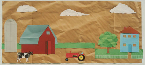 Artist: Bill Braun, Title: Farm - click for larger image
