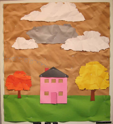 Artist: Bill Braun, Title: Pink House - click for larger image