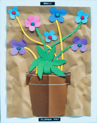 Artist: Bill Braun, Title: Small Flower Pot - click for larger image