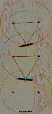 Artist: Bill Braun, Title: String Theory #8 - click for larger image