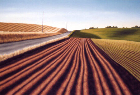 Artist: Doug Martindale, Title: Dueling Hills - click for larger image