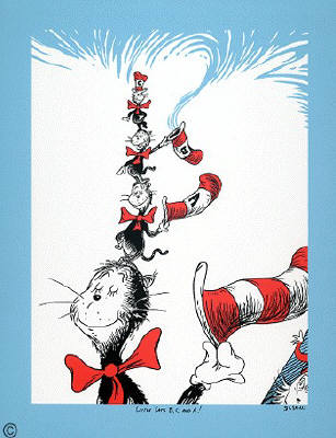 Artist: Dr. Seuss  , Title: Cats C, B and A - click for larger image