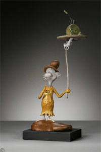 Artist: Dr. Seuss  , Title: Green Eggs and Ham Maquette - click for larger image