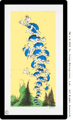 Artist: Dr. Seuss  , Title: Turtle Tower - click for larger image