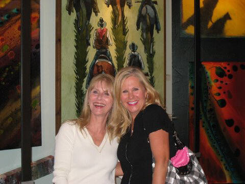 Artist: Gallery Event Photos, Title: Sister Kimmy and my long time friend Darla - click for larger image