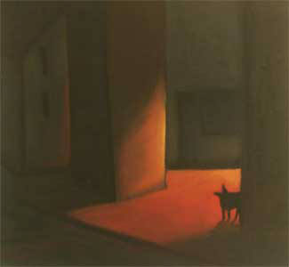 Artist: Jaime Ellsworth, Title: Street Dog - click for larger image