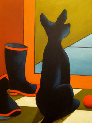 Artist: Jaime Ellsworth, Title: Wellies - click for larger image