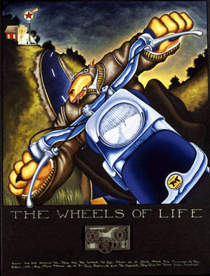 Artist: Markus Pierson, Title: Wheels of Life - click for larger image