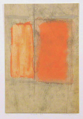 Artist: Mikio Tagusari, Title: Orange Return '99 MT010 - click for larger image