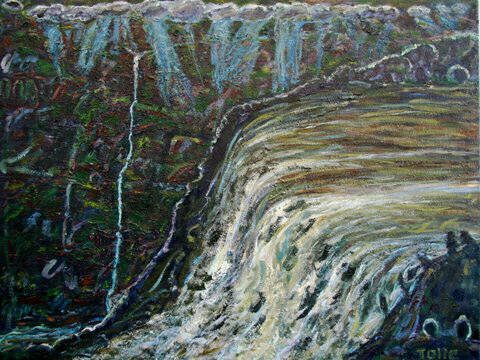 Artist: Pat Tolle, Title: Falls - click for larger image