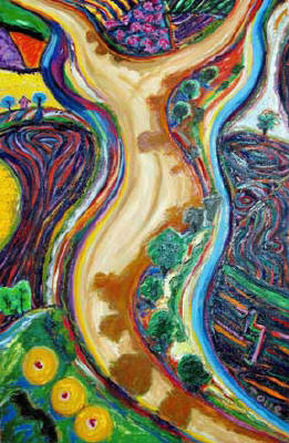 Artist: Pat Tolle, Title: Violin River - click for larger image