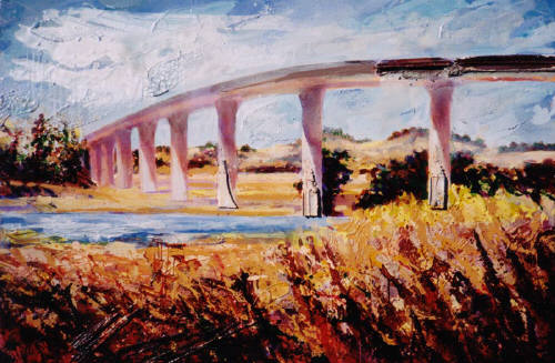 Artist: Robert  Minuzzo, Title: Untitled Overpass Northern California - click for larger image